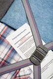 Verificação de bagagem da segurança aeroportuária foto de stock royalty free