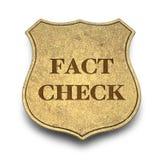 Verificação do fato ilustração do vetor