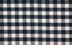 Verificação do guingão do algodão Fotografia de Stock