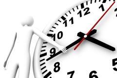 Verificação do tempo Imagem de Stock
