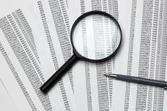 Verificação estatística foto de stock royalty free