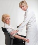Verificação médica acima Imagens de Stock Royalty Free