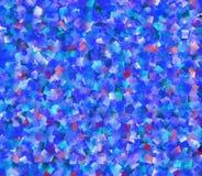 Verificações azuis Imagens de Stock Royalty Free