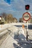 Verificación de documentos Controle el ancho de banda-punto en Chernóbil ucrania Imagen de archivo libre de regalías