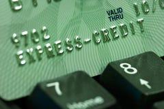 Verificación de la tarjeta de crédito Imagenes de archivo