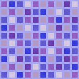 Verificaciones púrpuras Foto de archivo