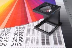 Verificador de linho Foto de Stock