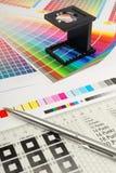 Verificador de linho Imagens de Stock