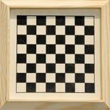 Verificadores ou placa de xadrez quadro. Foto de Stock Royalty Free