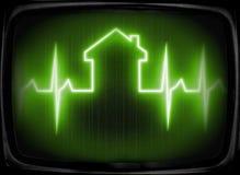 Verificação da casa acima Imagens de Stock