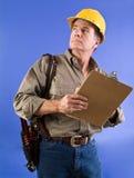 Verificazione del job immagine stock