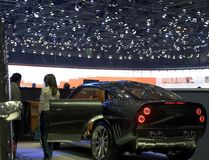 Verificazione dell'automobile sportiva Immagini Stock Libere da Diritti