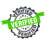 Verified stamp.Sign. Royalty Free Stock Photo