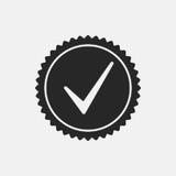 Verifique Mark Stamp Imagens de Stock