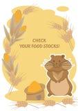 Verifique seus estoques de alimento Imagem de Stock Royalty Free