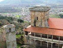 Castle of Monterrey stock photography