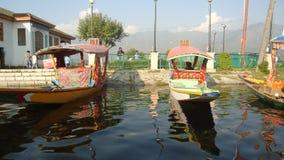 Verità Kashmir della barca fotografie stock libere da diritti