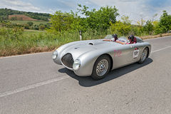 Veritas Comet RS (1949) runs in Mille Miglia 2014 Royalty Free Stock Photo