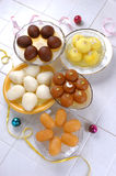 Verity of Asian Mithai Royalty Free Stock Photography