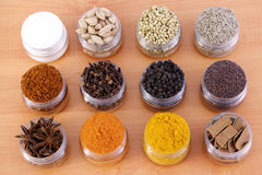 Verity od spices Royalty Free Stock Photos