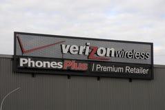 Verizon Wireless Imágenes de archivo libres de regalías