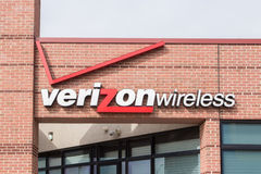 Verizon Wireless detaljist Royaltyfri Fotografi