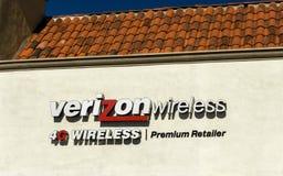 Verizon Wireless Retail Store Stock Image
