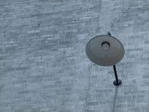 Verjüngte Backsteinmauer Stockbild