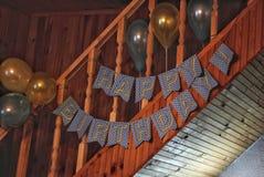 Verjaardag! Royalty-vrije Stock Afbeelding