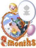 Verjaardag, boommaand voor baby Royalty-vrije Stock Afbeelding