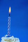 Verjaardag cupcake Royalty-vrije Stock Afbeeldingen