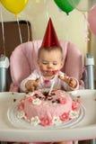 Verjaardags kleine kinderen royalty-vrije stock foto