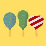 Verjaardagsballon Stock Illustratie