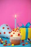 Verjaardagscake Royalty-vrije Stock Afbeelding
