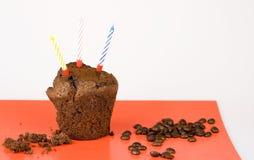Verjaardagscake Royalty-vrije Stock Foto