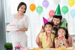 Verjaardagscake Royalty-vrije Stock Afbeeldingen