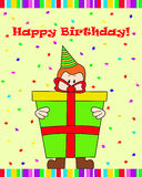 Verjaardagsgift Royalty-vrije Stock Afbeelding