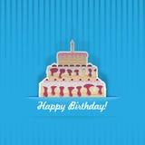 Verjaardagskaart Stock Foto's