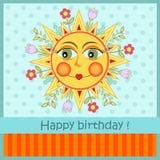 Verjaardagskaart Stock Fotografie