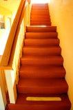 Verjas y escaleras de la propiedad horizontal Foto de archivo