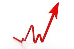 Verkäufe dynamisch Lizenzfreie Stockfotos