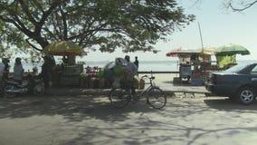 Verkäufer, Straße, Kambodscha, Südostasien stock footage