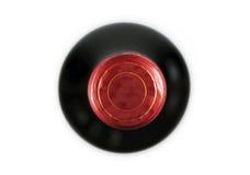 Överkant för vinflaska Royaltyfria Bilder