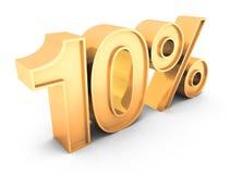 Verkauf 10% Lizenzfreies Stockfoto
