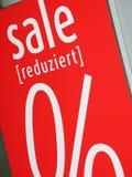 Verkauf Lizenzfreies Stockbild