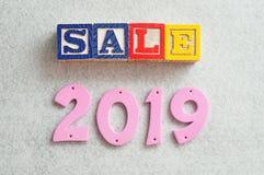 Verkauf 2019 Stockbilder