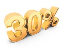 Verkauf 30% Lizenzfreies Stockfoto