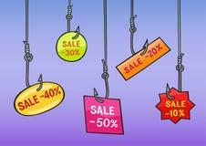 Verkauf stock abbildung