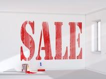 Verkauf Stockbild