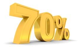 Verkauf 70% Lizenzfreies Stockbild